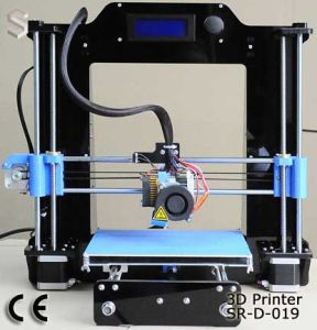 Newest Reprap Acrylic Frame Easy to Install DIY 3D Machine 3D Printer pictures & photos