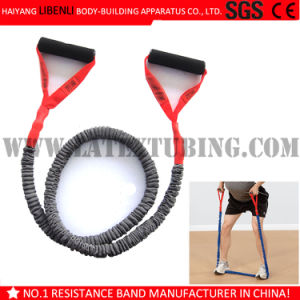 Latex Resistance Tube Exerciser for Fitness