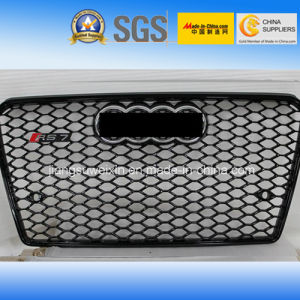 "Black Car Front Grill (Chromed Logo) for Audi RS7 2013"" pictures & photos"