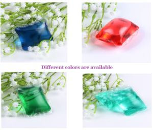OEM&ODM Liquid Washing Detergent, Washing Liquid Detergent with Water Souble Film, Laundry Liquid Detergent Pod pictures & photos
