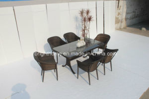 Dining Set New Design Patio Wicker Furniture/Garden Outddor Furniture (BP-3038) pictures & photos