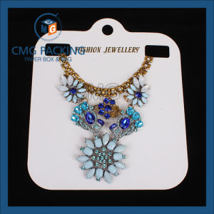 PVC Jewelry Necklace White Card (CMG-052) pictures & photos