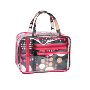 Four in One PVC Travel Toiletry Makeup Cosmetic Bag Sets
