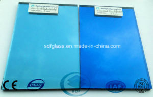Ford Blue Reflective Glass with CE, ISO (4 TO 10mm) pictures & photos