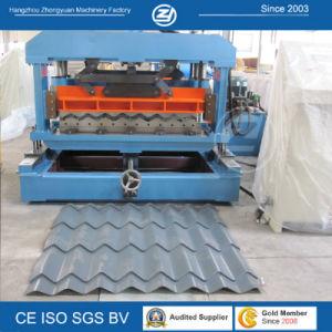 Galvanized PPGI Metal Steel Roof Tile Panel Forming Machine pictures & photos