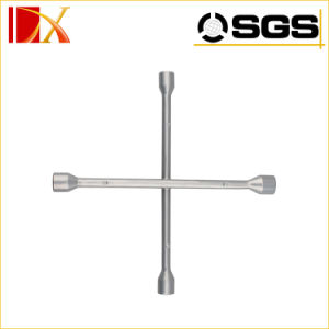 Carbon Steel Cross Rim Wrench X Shape Wrench