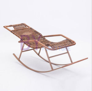 by-484 Wholesale Rattan Adult Noon Nap Balcony Leisure Rocking Chair pictures & photos