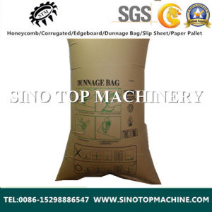 Waterproof and Wetproof Brown Kraft Paper Inflator Dunnage Air Bag OEM pictures & photos