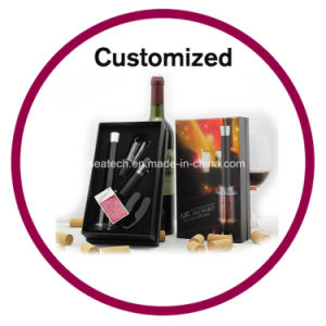 Logo Printed Wine Stopper Set pictures & photos