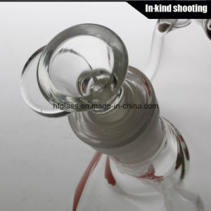 "Hfy Glass Made of Glass Water Pipe for Smoking Hitman and Zob Beaker Pipe 10"" Tabacco Glass Bongs pictures & photos"
