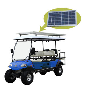 6seat Golf Cart with Solar Panel pictures & photos