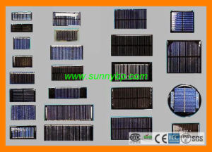 Epoxy 2V/4V/6V Round Solar Panel for Outdoor Solar Lamp pictures & photos