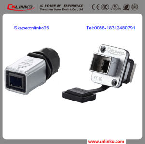 Made in China Waterproof IP65 Shielded Anti-Explosion RJ45 Connector pictures & photos