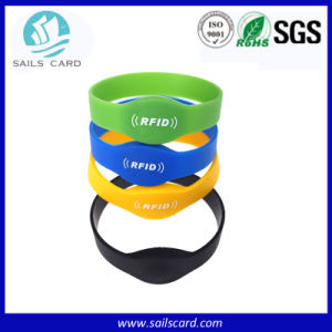 Ultralight/Ntag203/Mf 1k Nfc Silicone Wristband/Silicon Bracelet pictures & photos