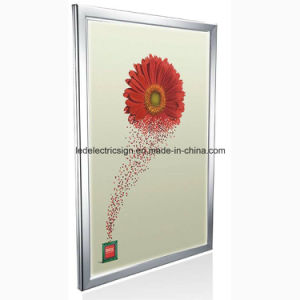 The Remote Switch Control Ultra-Thin LED Aluminum Frame Light Box pictures & photos