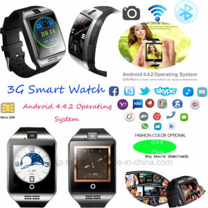 2017 3G Smart Watch Phone with Camera & WiFi Q18 Plus pictures & photos