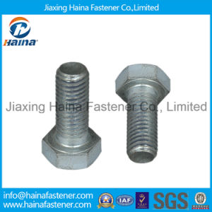 Jiaxing Haina 8.8 Grade Galvanized Hex Bolt pictures & photos