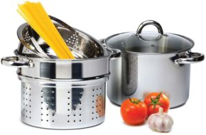 Amazon Vendor 4 PCS Stainless Steel Pasta Cooker 8 Qt pictures & photos