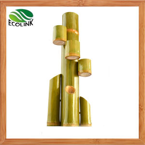 Natural Bamboo Flower Vase / Bamboo Combination Pot pictures & photos