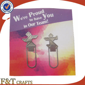 High Quality Custom Silver Metal Bookmarks for Gifts (FTBM3115A) pictures & photos