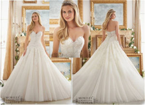 2016 New Hot-Selling Bridal A-Line Wedding Dress, Customized