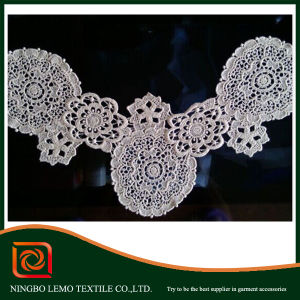 Water-Soluble Lace, Chemical Collar Lace pictures & photos