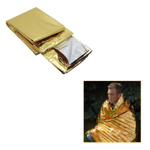 Outdoor Emergency Survival Blanket (Gold/Silver) pictures & photos