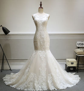 High Quality Fit & Flow Wedding Gown Bride Dress pictures & photos