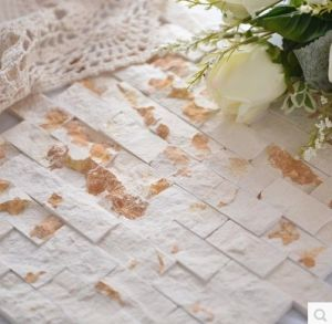 Factory Directly Villa Wall Cladding White Natural Culture Decorative Stone for Wall pictures & photos