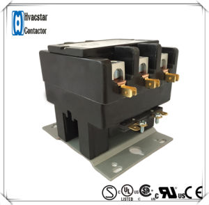 UL Certificate Air Conditioner 24V 75A 3 Poles AC Contactor pictures & photos