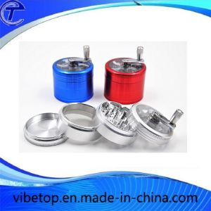 China Factory 2 Tier Mini Metal Tobacco Herb Grinder pictures & photos