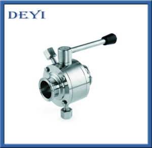 Stainless Steel Sanitary Pneumatic Clamped Ball Valve pictures & photos