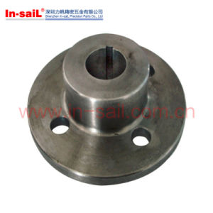 Heavy Duty Polished Brass Floor / Ceiling Flange pictures & photos