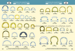 Zinc Alloy Brushed Antique Brass D Ring pictures & photos