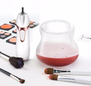 Professional Oval Toothbrush Makeup Brush Set Cleaner Makeup Brush Cleaner pictures & photos