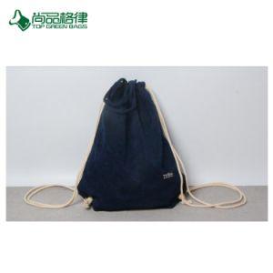 Gift Backpack Custom Velvet Drawstring Bag (TP-dB198) pictures & photos