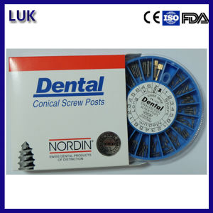 240 PCS High Quality Nordin Ss Dental Screw Post pictures & photos