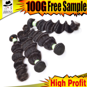 Hair Weaving of 6A Indian Remy Human Indian Hair pictures & photos