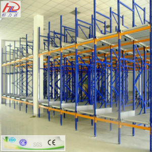 Heavy Duty Gravity Pallet Racking Warehouse with High Quality pictures & photos