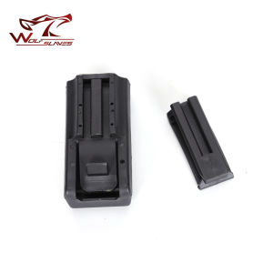 Tactical CQC Double Stack Pistol Magazine Pouch Case for Police pictures & photos