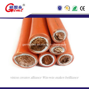 Sulphurate Rubber PVC Welding Cable 120mm pictures & photos