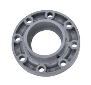 Plastic U-PVC PVC Van Stone Flange/Pipe Flange/PVC Fittings/Pipe Fittings/Valve Fitting (ASTM) pictures & photos