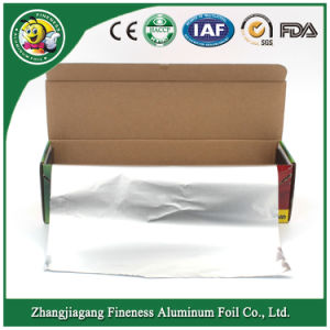 2018 New Household Aluminum Foil Roll Packed Corrugated Box with Plastic Tray pictures & photos