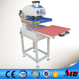 Pneumatic Drawing Single Station Heat Press Machine pictures & photos