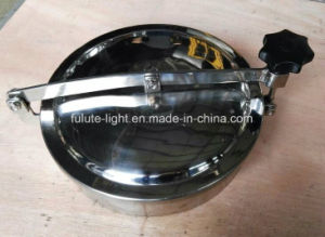 Sanitary Stainless Steel Round Manhole Cover pictures & photos