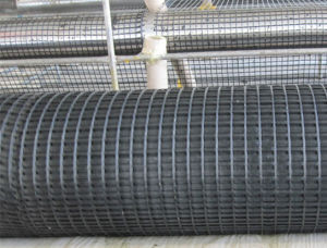 Glass Fiber Asphalt Geogrid with Tensile Strength 50kn pictures & photos