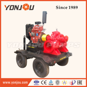 4′′ Diesel Engine Driven Pump Skits on Trailer pictures & photos