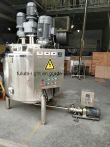 Stainless Steel Shampoo Mixing Tank/Lotion Mixing Tank pictures & photos
