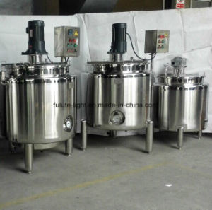 Food Grade Stainless Steel Stirred Tank Fermenter pictures & photos