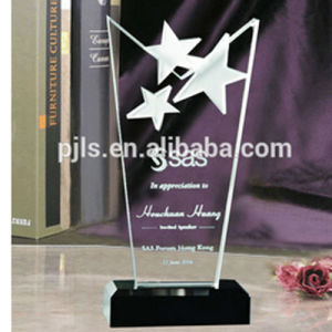 Glass Star Plaque, Blank Star Glass Trophy Awards pictures & photos
